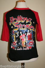 AWESOME VERY RARE VINTAGE 1981 ROLLING STONES CONCERT TOUR SHIRT LRG TATOO YOU