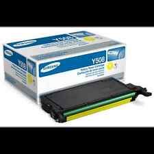 Genuine Samsung CLT-Y508S 2000 Page Yellow Toner for  CLP-620ND, CLP-670ND
