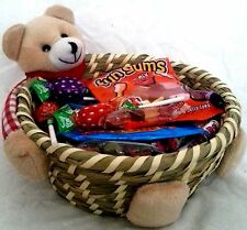 Deluxe Retro Sweet gift for girl friend Basket hamper Valentines Birthday Candy