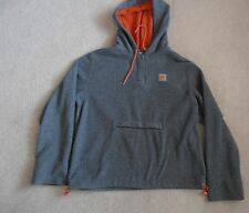 ROXY Active QUIKSILVER Women's Hoodie Fleece Jacket Gray, Size M Pullover