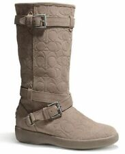 Women's Shoes and Boots in Brand:Coach, Color:Gray, Material:Suede ...