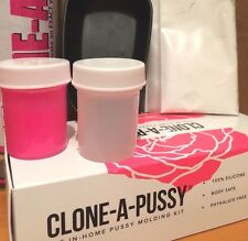Mould Clone a Pussy HOT PINK Kit for Her Gift Pink Colour BNIB