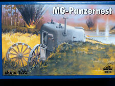 MG PANZERNEST – GERMAN WWII MOBILE BUNKER, RPM, SCALE 1/35