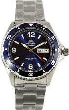 ORIENT AUTOMATIC BLUE DIAL SILVER WATCH MEN SiLVER  MAKO  SPORTY  DIVER