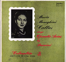 CALLAS Puccini Opera Arias JUGOTON Release of 33CX-1204 S/C Label Low SHIPPING