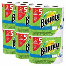 Bounty Select-a-Size Paper Towels White Huge Roll 12 Count 12 Huge Rolls