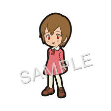 Digimon Hikari Kari Kamiya Rubber Strap Cell Phone Charm Licensed NEW