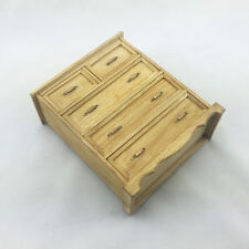 NEW Wooden Chest of drawers The wardrobe locker Scene furniture 1/6 Scale Model
