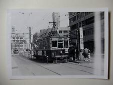 JAP661 - 1960s FUKUOKA CITY TRAMWAYS Nishi Nippon Railway TRAM No509 PHOTO Japan