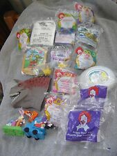 Lot  McDonalds Happy Meal Toys 1990s 80s  18 Few Loose Sealed