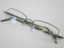 Lindberg Half Rimmed 3012 K40 Zebra Black Glasses Eyewear Eyeglass Frame Denmark
