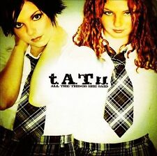 t.A.T.u - All the Things She Said (RARE SINGLE 2 TRACKS & OFFICIAL VIDEO)