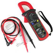 Clamp Multimeter LCD Digital OHM Amp Volt Meter AC/DC Current Resistance Tester