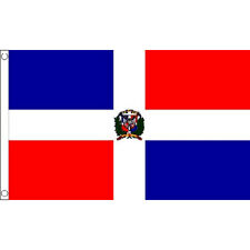 Dominican Republic Flag 5Ft X 3Ft Caribbean Island Banner With 2 Eyelets New