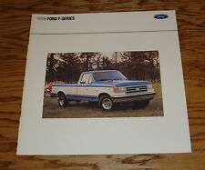 Original 1990 Ford Truck F-Series Pickup Sales Brochure 90 F-150 XL XLT Lariat