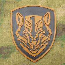Medal of Honor MOH AFO WOLFPACK Tactical morale Military 3D PVC Patch