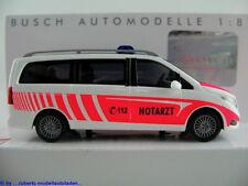 """Busch 51160 Mercedes-Benz V-Klasse (2014) """"NOTARZT"""" 1:87/H0 NEU/OVP"""