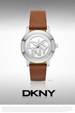 DKNY WOMEN'S BROWN LEATHER COLLECTION WATCH NY2207