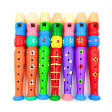Cheap Mini Kids Wooden Flute 6 Holed Musical Instrument Piccolo Educational Toys