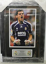 IKER CASILLAS UNSIGNED 8X10 PHOTO & PLAQUE FRAMED - BRAND NEW READY TO HANG!