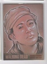 Walking Dead season 4 pt. 2 sketch card Fer Galicia