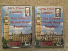 Pat Adams - Break Free Seminar - Live from London - 4 DVD Set