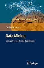 Data Mining : Concepts, Models and Techniques 12 by Florin Gorunescu (2013,...
