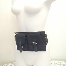 Authentic Gucci Waist Belt Bag - Black