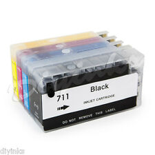 Refillable Ink Cartridges SET For HP 711 Designjet  T120 T520 Hp711