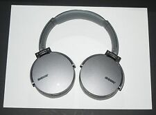 Sony MDR-XB950BT Extra Bass B'tooth Headphones w/Mic -GRAY-  mdrxb950bt /h  a