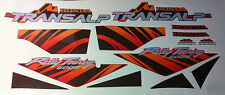 HONDA TRANSALP bordeaux 94 Kit completo - adesivi/adhesives/stickers/decal