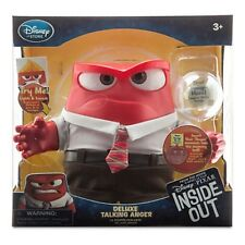 Disney Store Anger Deluxe light Up Talking Doll Pixar Inside Out BNIB