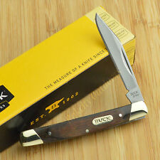 Buck Knives Solo Wood Handle 420J2 Single Blade Folding Pocket Knife 379BRS