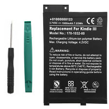 Battery for Amazon Kindle 3 III 170-1032-00 GP-S10-346392-0100 S11GTSF01A + Tool