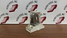 Dayton 1EJE3 120VAC Relay with Socket Base