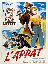 LO SPERONE NUDO NAKED SPUR MANIFESTO JAMES STEWART JANET LEIGH ROBERT RYAN