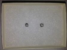 Women's .50CT half carat Round Diamond Stud Earrings $1,500.00 NWT