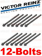 12-Head Bolts Victor Reinz Engine Cylinder Head Bolt Set Volvo