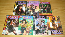 Xena Warrior Princess #0 & 1-2 VF/NM complete series +(4) variants -dave stevens