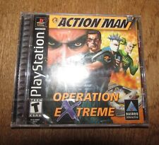 Action Man: Operation Extreme (PlayStation 1, 2000) New & Sealed Video Game