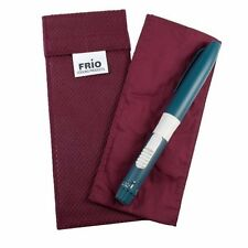 Frio Insulin Individual Cooling Travel Wallet Burgundy