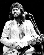 Barry Gibb Photo The Bee Gees 1979 Concert Photo by Marty Temme 1B Guild Guitar
