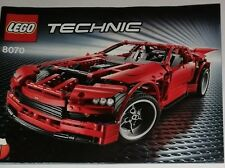 LEGO Supercar Instructions 8070, Technic instructions only Lego 8070 instruction