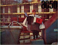 ARCHITETTURA AC 50 APRILE 1968 REVUE INTERNATIONALE D'AMIANTE CIMENT