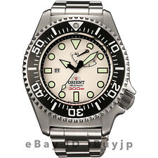 Orient WV0121EL 300m Saturation Diver White Dial Dive Watch EL02003W SEL02003W
