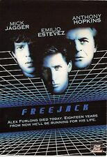 B56960 Freejack Mick Jagger and Emilio Estevez     movie star