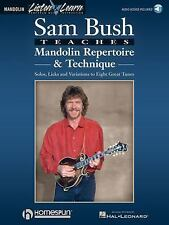 Sam Bush Teaches Mandolin Repertoire & Technique (Listen & Learn Bk/Online Audi