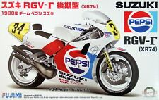Fujimi Bike-13 Suzuki RGV-gamma (XR74) 1988 Team Pepsi Suzuki 1/12 scale kit