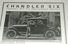 1920 Chandler Motor Car advertisement, CHANDLER SIX 4-passenger coupe
