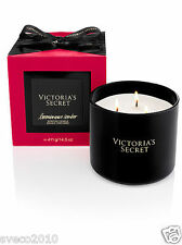 NIB VICTORIA'S SECRET LUMINOUS AMBER 14.5 OZ 3-WICK FILLED SCENTED CANDLE